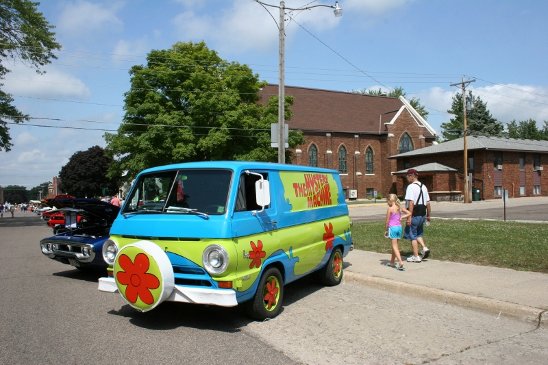 I called this a hippie van.
