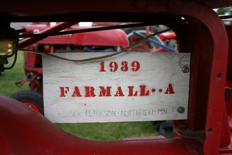 Art, Farmall homemade sign