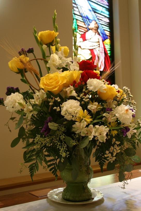 The symbolic bouquet.