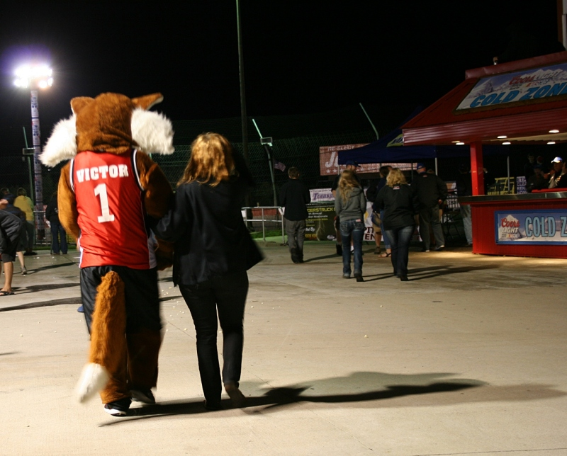 A quick shot of the Elko mascot.