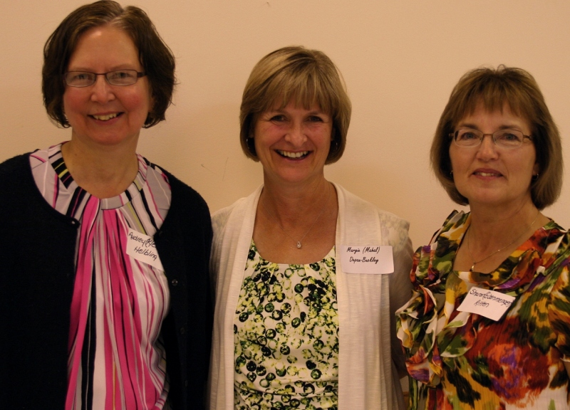 Me, left, with two of my best friends from high school, Margie and Sharon.