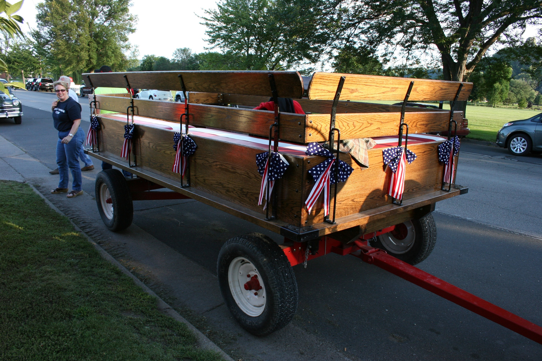 Tractor Pulled Wagon : Historic winona drive in hosts farm tractor night i was