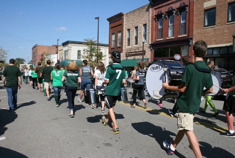 Every parade needs a band.