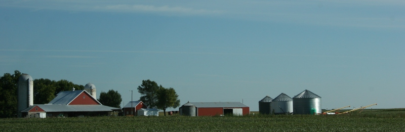 Our weekend travels took us deep into southern Minnesota farm country.