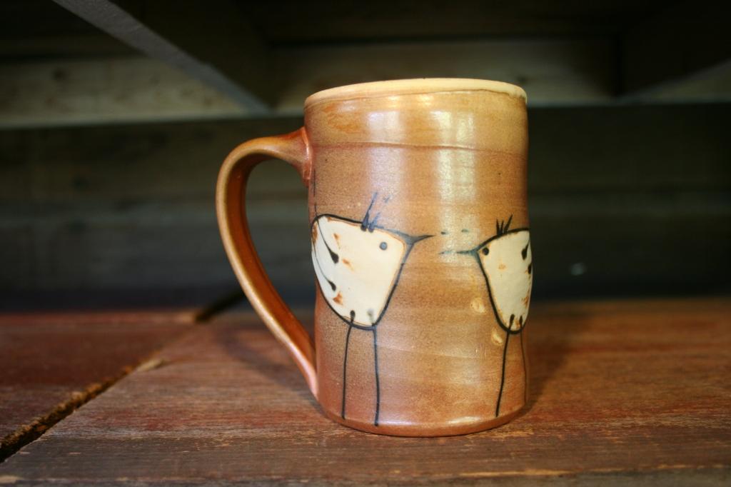An example of the pottery Dawn Makarios creates.