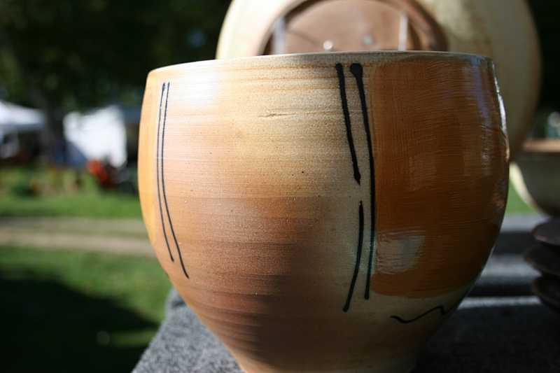 Kerry Brooks Pottery from Dock 6 Pottery, Minneapolis.