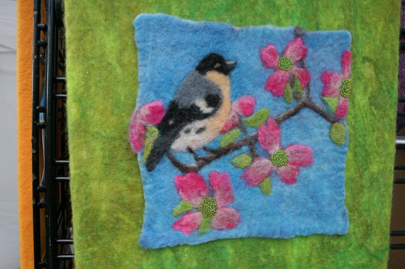 The art of Renee Nation, fiber artist/felt maker.