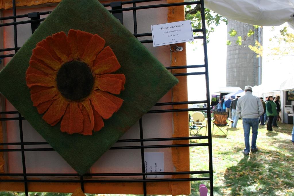 The work of Renee Nation, fiber artist and felt maker.