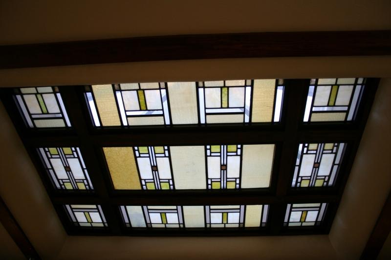 A skylight.