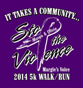 This logo comes from a 5K walk/run honoring Faribault native Margie (Brown) Holland and her unborn daughter, Olivia. Margie's husband, Roger Holland, is serving two terms of life in prison for their 2013 murders.