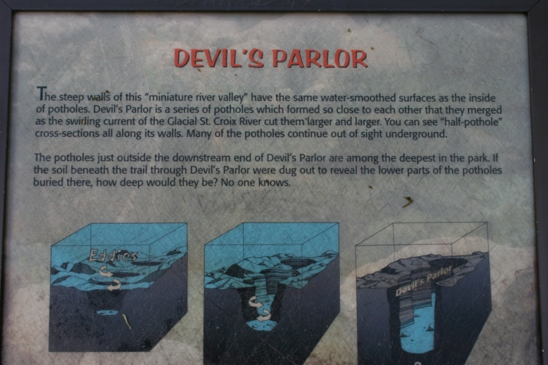 And an explanation of Devil's Parlor.