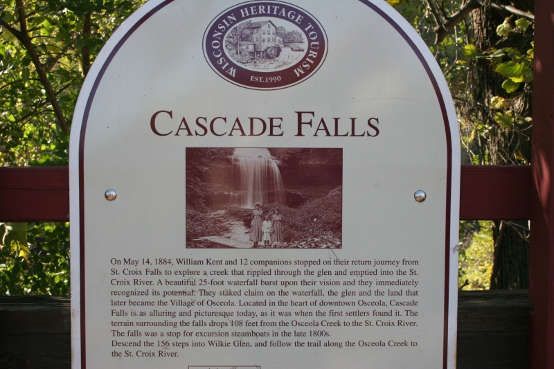 A little history of the falls.