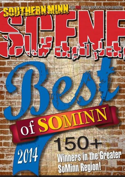 "The cover of Southern Minnesota Scene's November issue featuring the 150-plus ""best of"" winners."