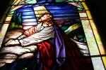 Vang Lutheran, stained glasswindow
