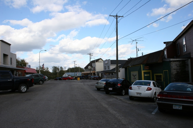 Another shot of the East Ellsworth business district.