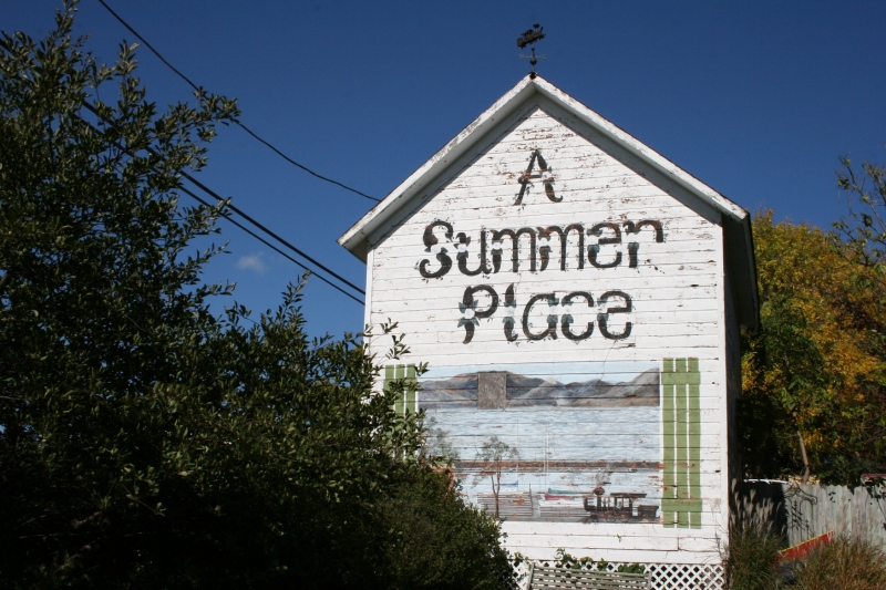 Unlike the museum, which closes in October, A Summer Place Bed and Breakfast