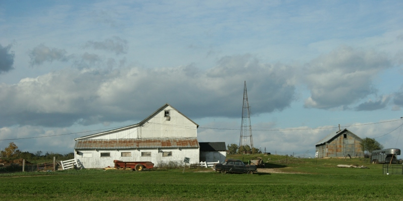 Rural, old farmstead