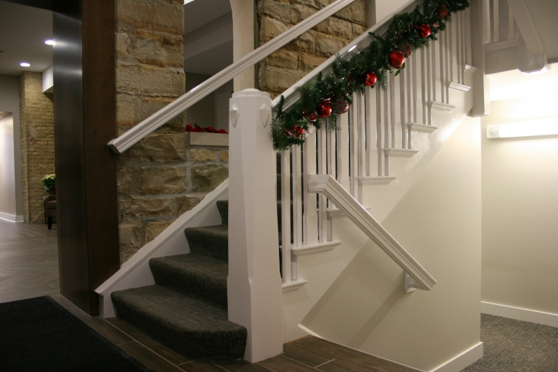 The original staircase.
