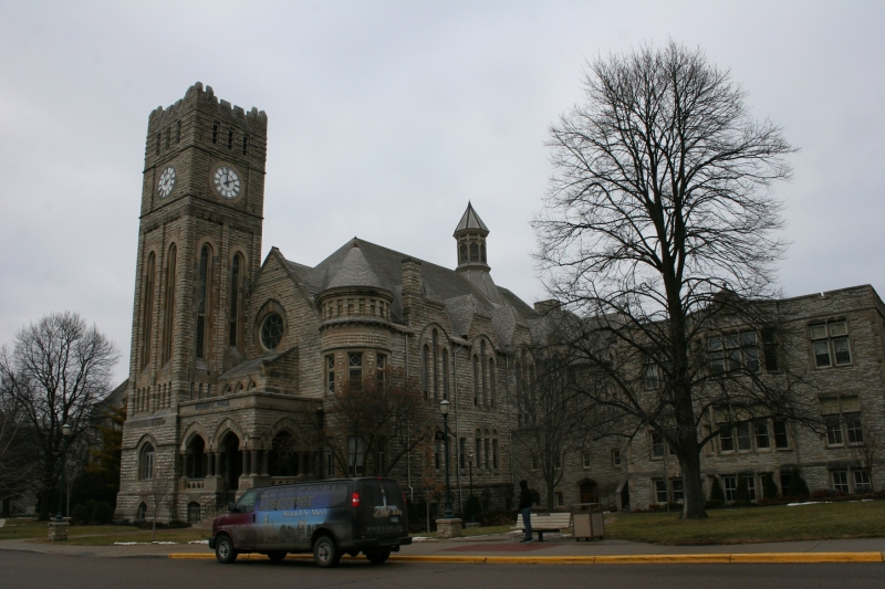 The Shattuck-St. Mary's campus features beautiful stone buildings constructed in the 1800s.