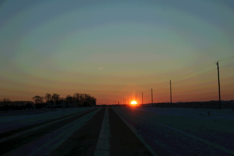 Thanksgiving morning sunrise 2