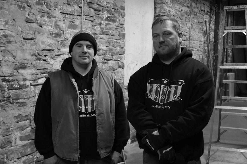 Chris and Noah, Patriot's Brewing 2013