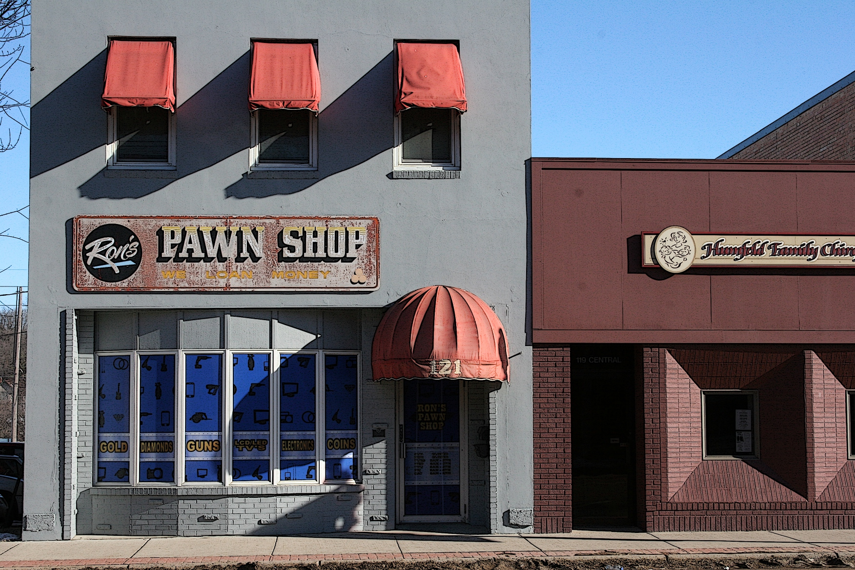 pawn shop Pawn stars is an american reality television series, shown on history, and produced by leftfield picturesthe series is filmed in las vegas, nevada, where it chronicles the daily activities at the world famous gold & silver pawn shop, a 24-hour family business opened in 1989 and originally operated by patriarch richard old man harrison, his .