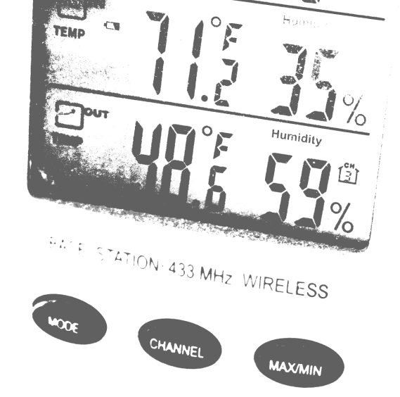 Monday afternoon the temperature in my southeastern Minnesota backyard ranged in the mid to high 40 degrees Fahrenheit.