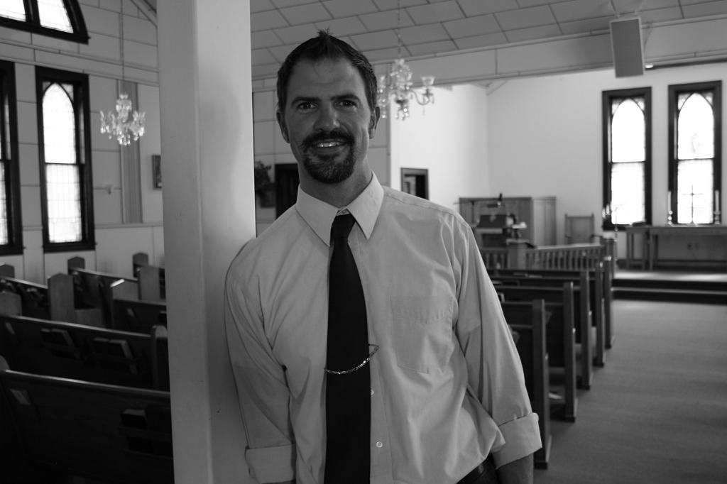 Portrait 8, Pastor Gordon Deuel at Little Prairie