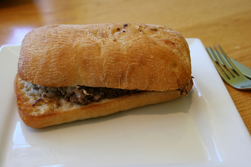 My Prime Rib Sandwich.