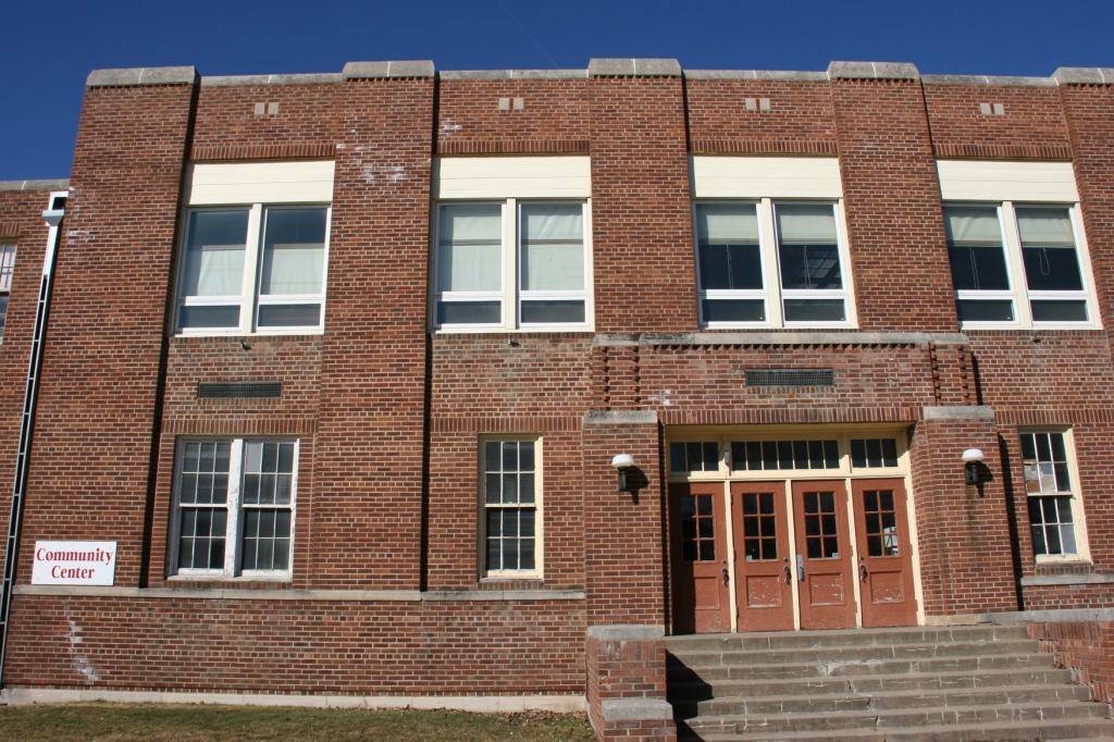 The former gym now houses the West Concord Community Center.