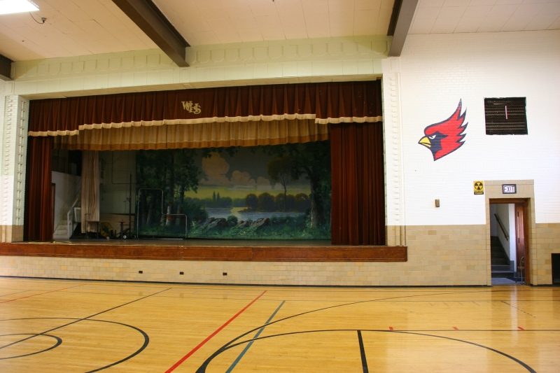 This beautiful gym was once home to the West Concord Cardinals.