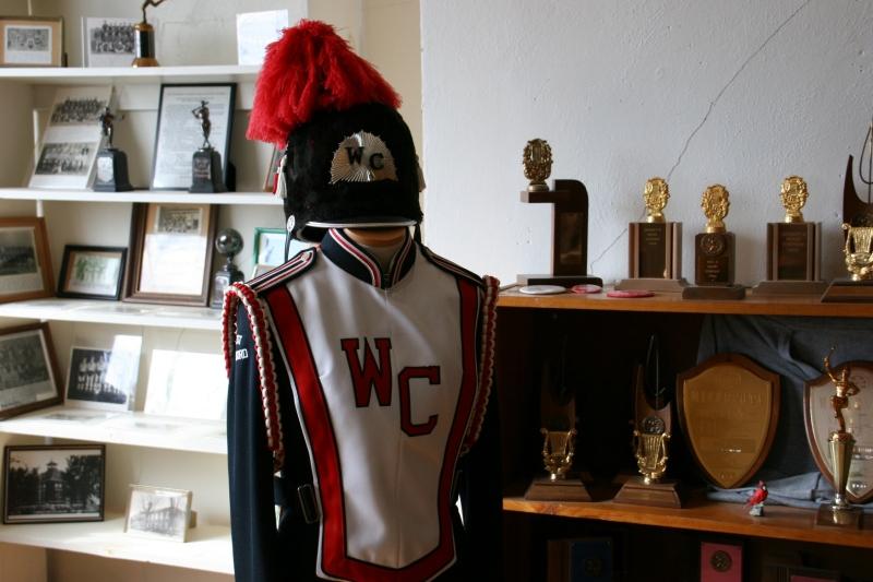 A majestic band uniform preserved.