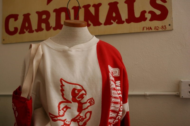 Wearing Cardinal pride.