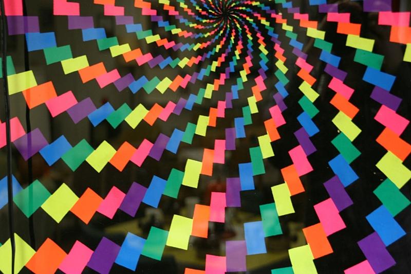 Feelin' groovy...a snippet of 1960s art.
