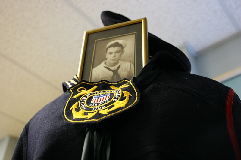 The Veterans Room honors local men and women who served their country.