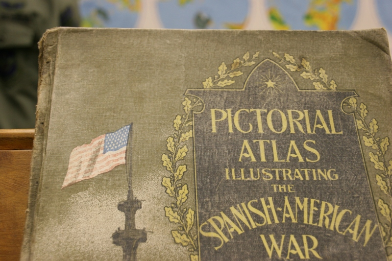 Books and documents are also displayed in The Veterans Room.