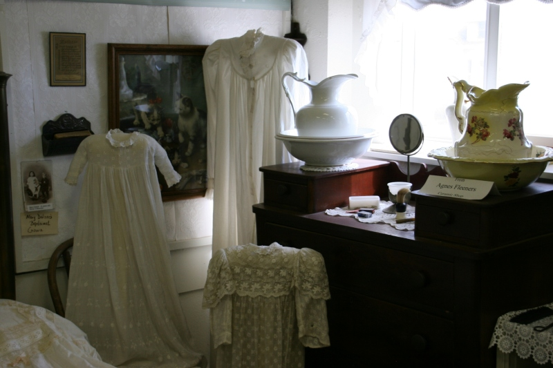 Clothing and more of yesteryear grace The Heritage Room.