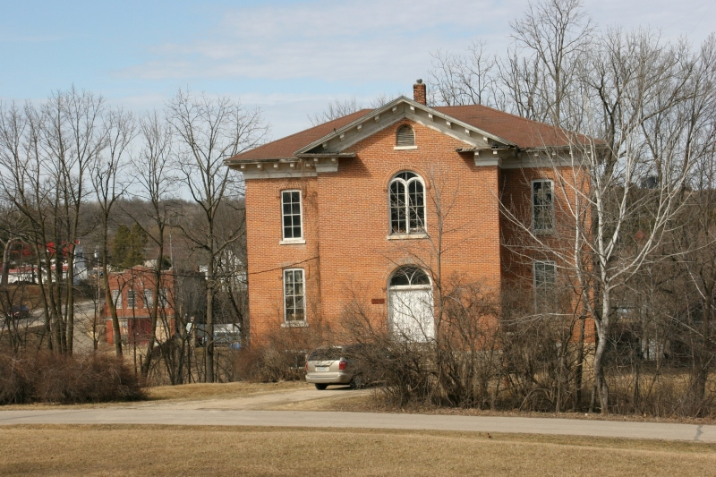The old schoolhouse.