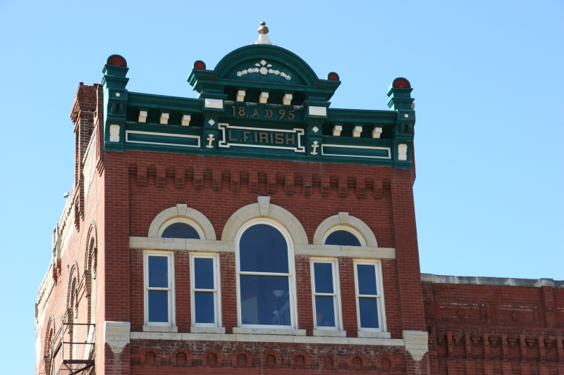 Downtown buildings feature stunning architectural detail.