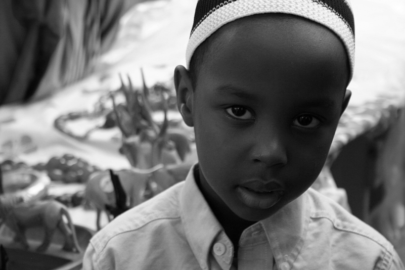 Portrait 13, International Festival Faribault 2012, Somali boy