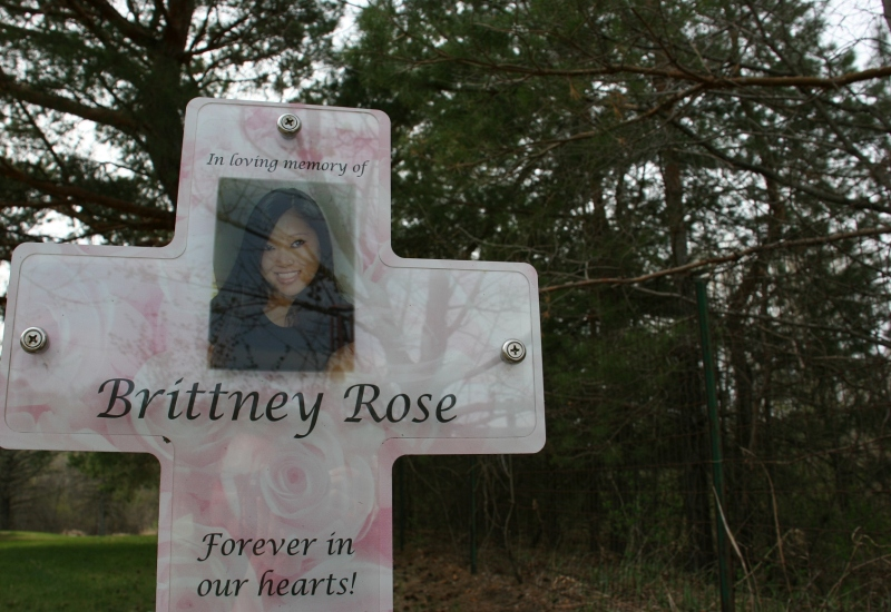 A loving, permanent tribute to Brittney.