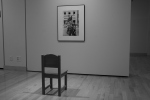 Exhibit Selma, chair and photo