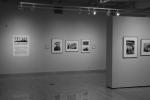Exhibit Selma, sign and photos onwalls