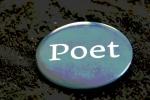 Poet button, edited