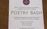 Poetry Bash invitation