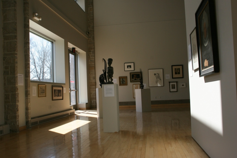 "Items from St. Olaf's art collection were displayed in the recent ""Interrogating Genders"" exhibit."
