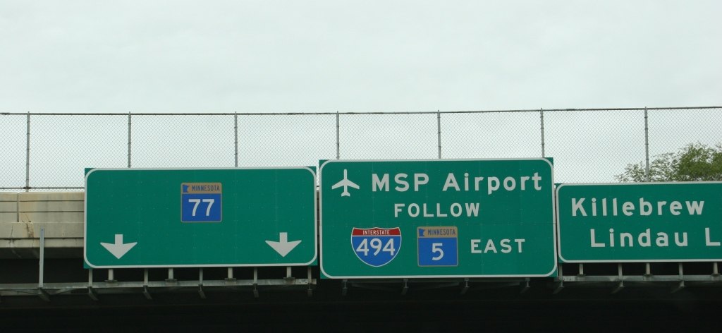 Airport, sign
