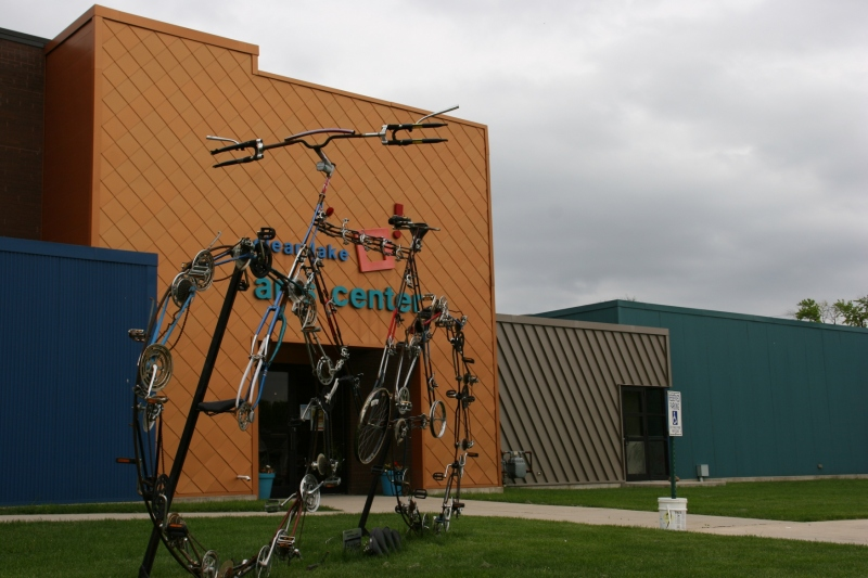 The Clear Lake Arts Center centers the arts in this community. It's impressive.