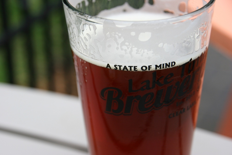 Lake Time Brewery is a must-stop for good beer and great conversation with the locals.