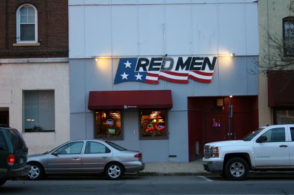 A sports club and bar.